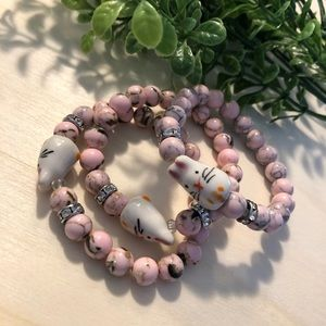 Easter Gemstone Bracelet xs/ youth girls